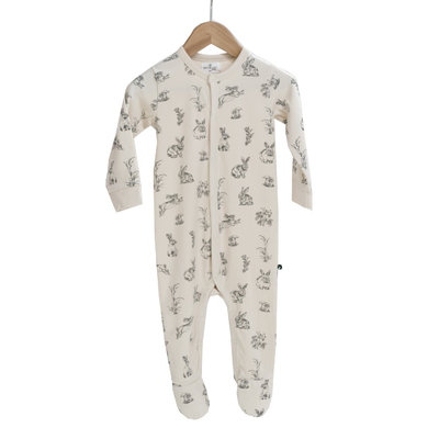 Essentials Sleep suit [colour: Almond Burrowers] [size: NB]