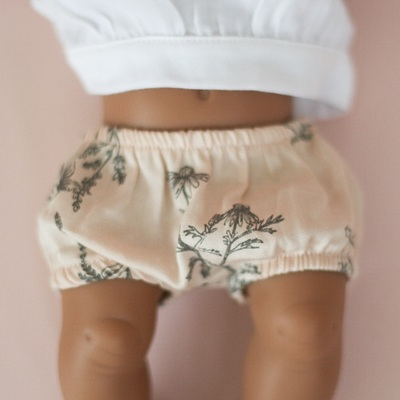 Blush meadow Bloomers for 32cm Doll
