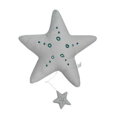 Grey/ Teal Star Music Toy