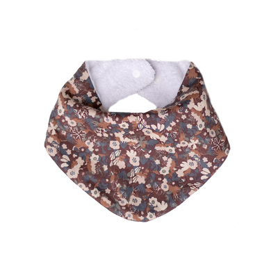 Flower fields cotton / Terry bib